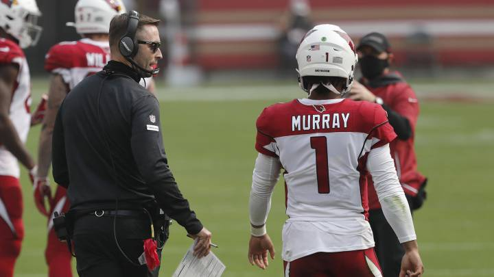 Kyler Murray y Kliff Kingsbury