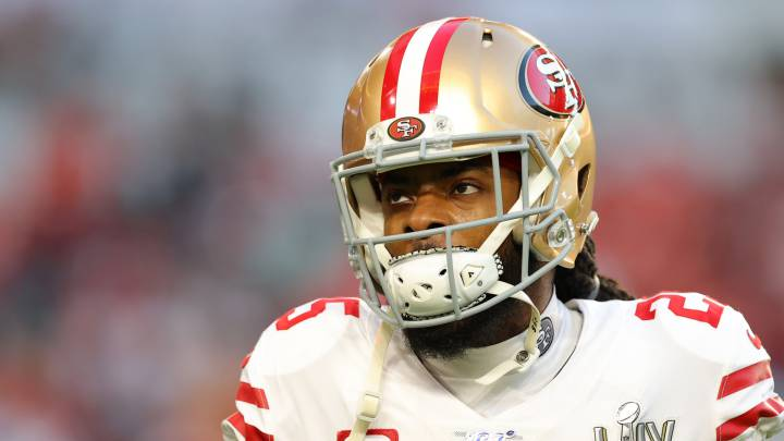 Richard Sherman con los 49ers