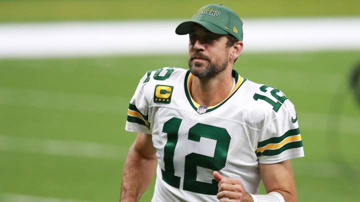 Aaaron Rodgers con los Packers
