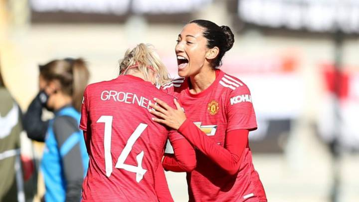 Tobin Heath y Christen Press debutan con Manchester United