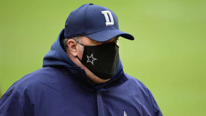 Mike McCarthy con los Cowboys