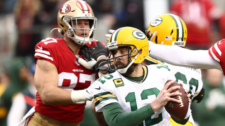 Partido entre 49ers y Packers