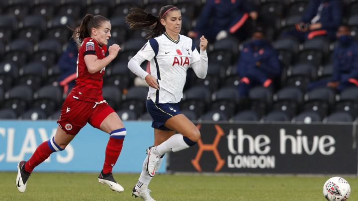 Alex Morgan debuta con el Tottenham en la Women's Super League