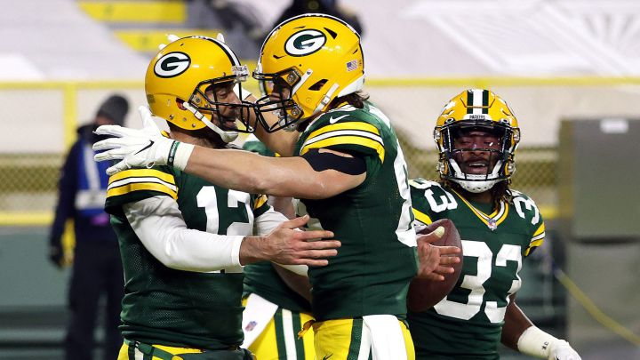 Aaron Rodgers con los Packers