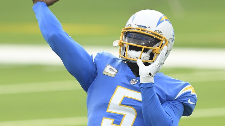 Tyrod Taylor con los Chargers