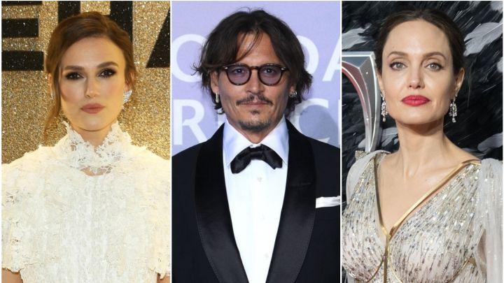 Angelina Jolie Keira Knightley Y Más Se Suman Al Caso De Johnny Depp As Usa
