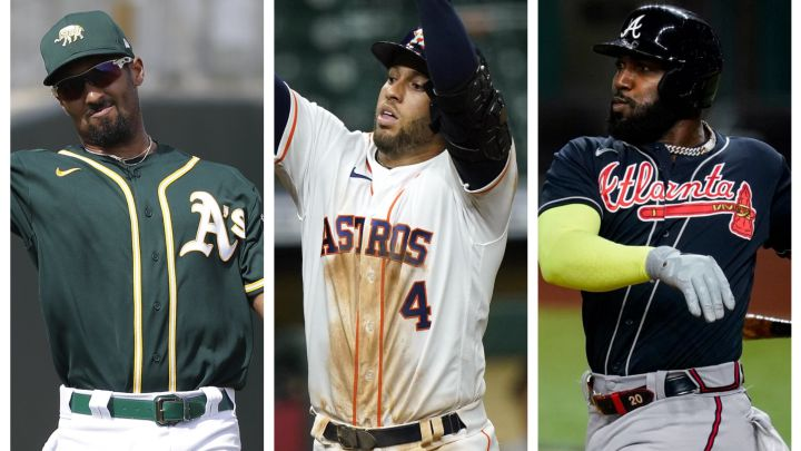 Marcus Semien, George Springer, Marcell Ozuna