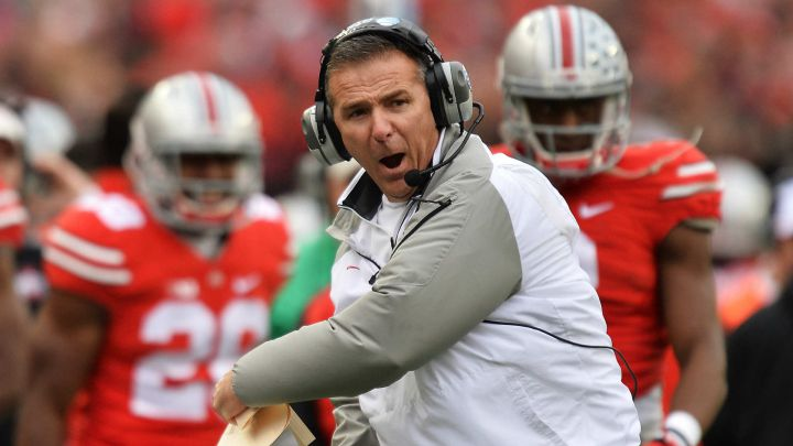 Urban Meyer con Ohio State