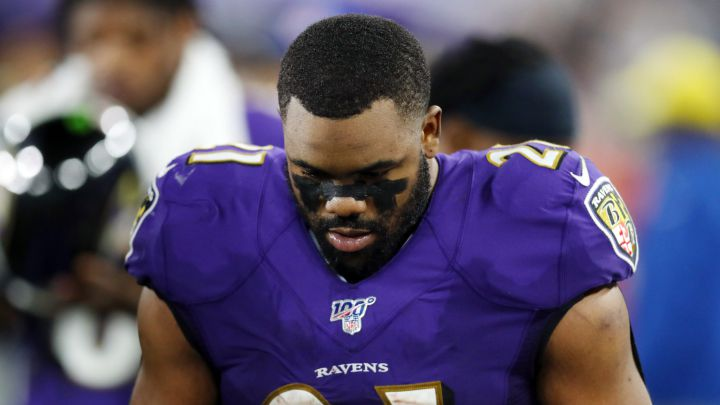 Mark Ingram con los Ravens
