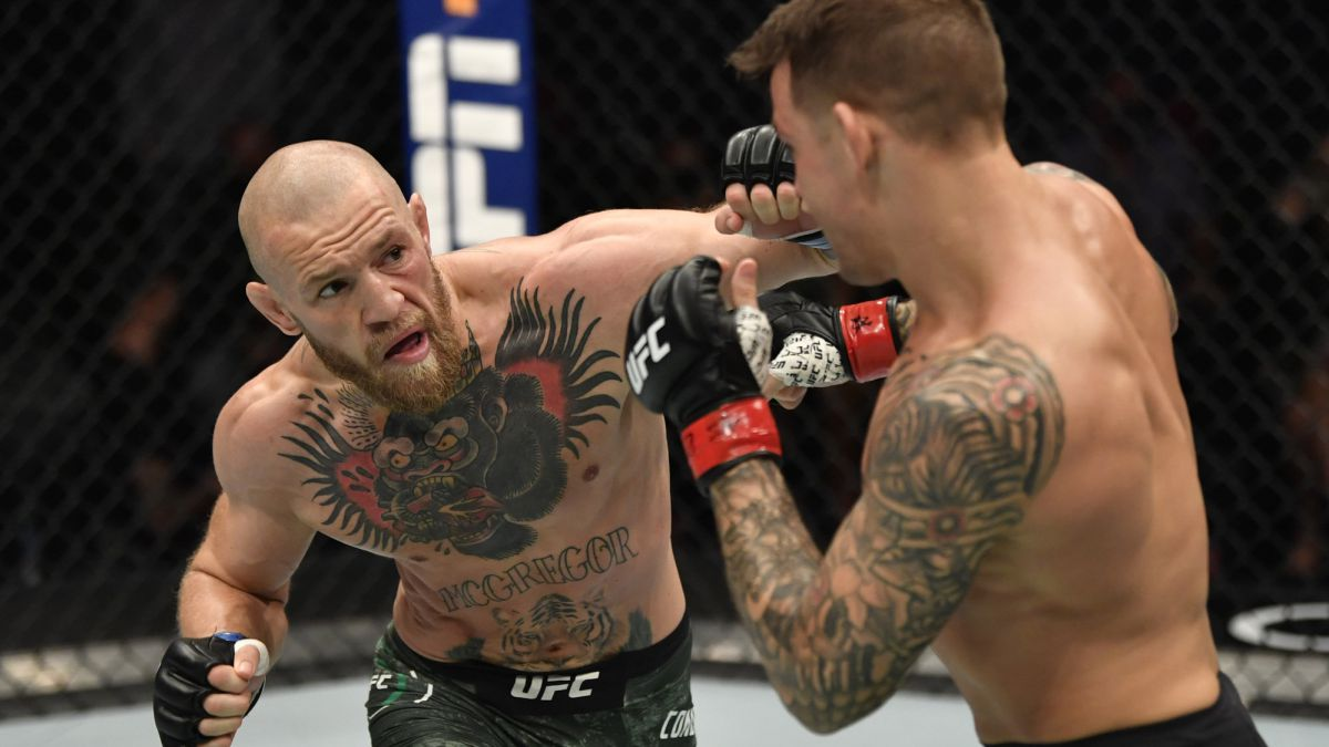 Conor McGregor says he won't retire after losing to Poirier