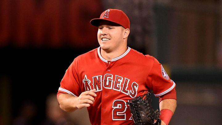 Mike Trout con los Angels
