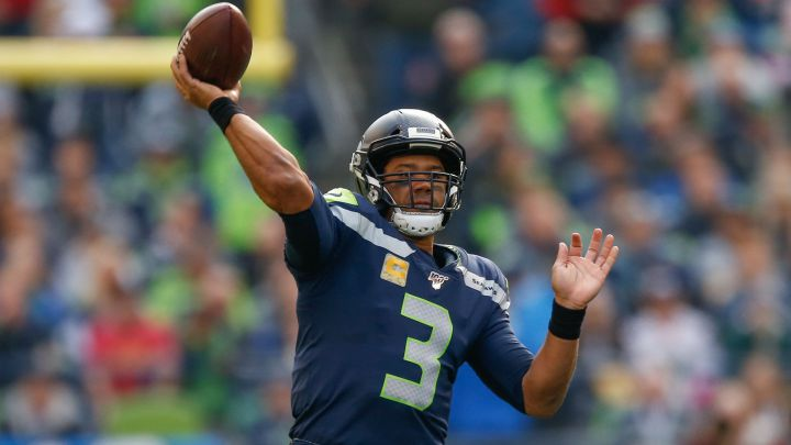 Russell Wilson con los Seahawks