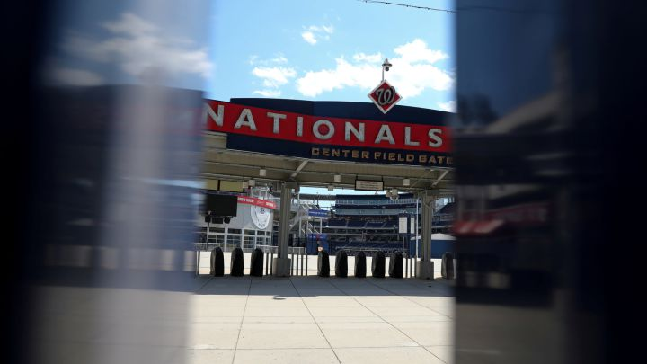 Exterior del Nationals Park