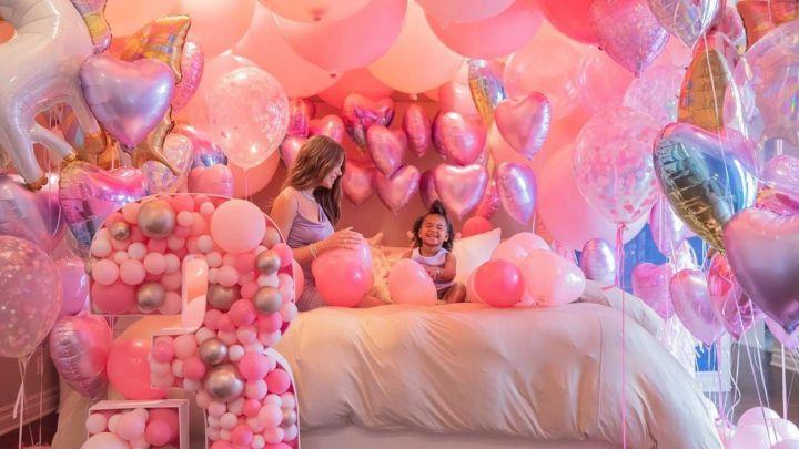 Khloé Kardashian celebrates her daughter True's birthday