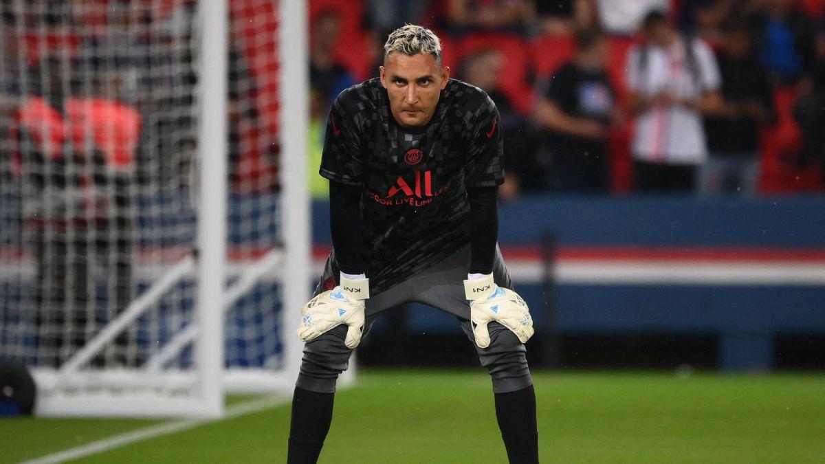 Keylor Navas irá a la banca en Champions ante Manchester City