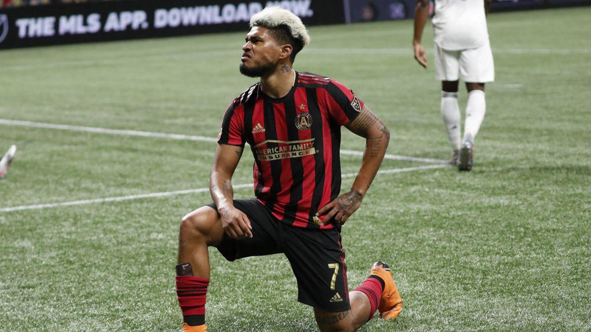 Josef Martínez llegó a 100 goles y le dio el triunfo a Atlanta United