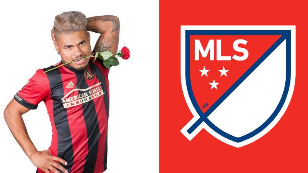 Josef Martinez se enojó con la MLS porque publicaron una foto suya para San Valentin