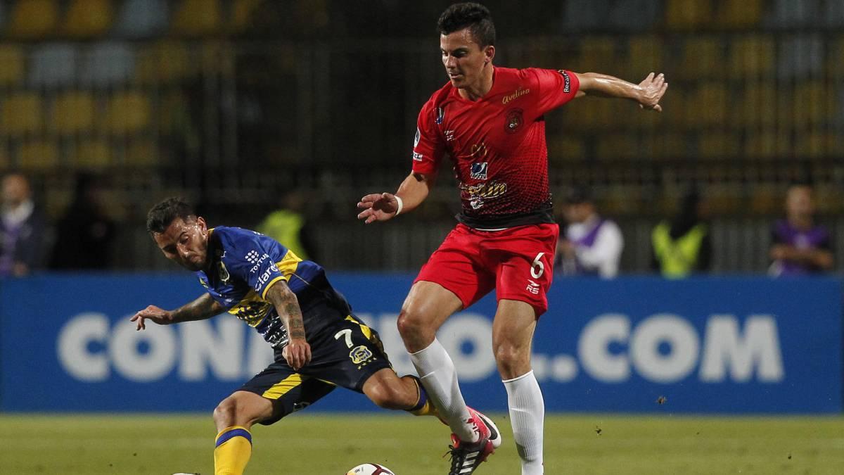 Caracas se clasifica pese a perder en casa ante Everton