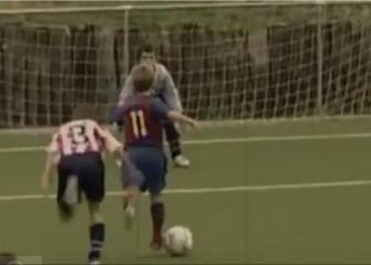 Ten-year-old Deulofeu's dazzling dribbles