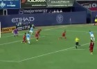 Frank Lampard anotó su primer gol con el New York City