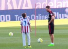Pure class from Simeone and son at the Calderón