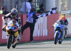 Triunfo para Oliveira en el accidentado final de Moto3
