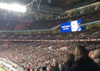 Wembley fans raise the roof with respectful Cruyff applause