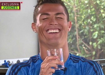 Cristiano Ronaldo bursts into laughter at Benitez question