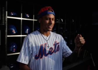 Neymar 'signs' for MLB side NY Mets