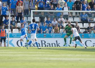 Real Madrid Castilla v Lleida: Vega's spectacular bicycle kick