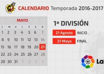 Calendario De Liga Bbva 15 16.Calendario Liga Todas Las Noticias Pag 2 As Com