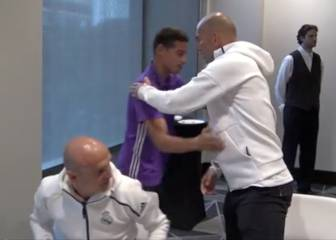 Zidane greets James: frosty welcome back for Colombian?