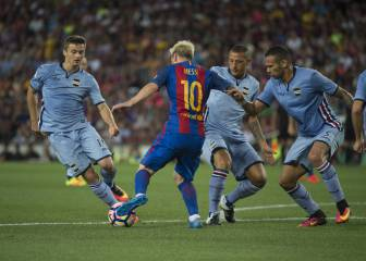 Barcelona 3-2 Sampdoria: Match highlights