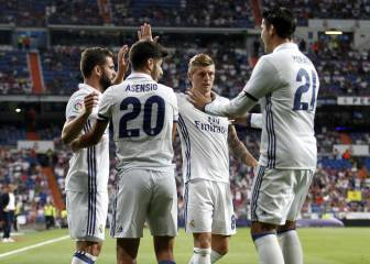 Goals and highlights of Real Madrid 5 - 3 Stade de Reims