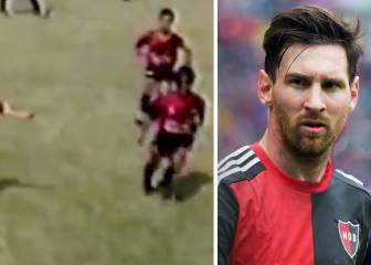 Messi's best dribbles...as a Newell's 10-year old