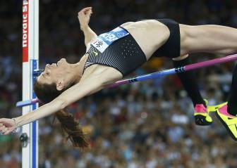 El salto con el que Ruth Beitia ganó la Diamond League