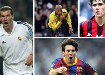 311 seconds of classic Champions League goals