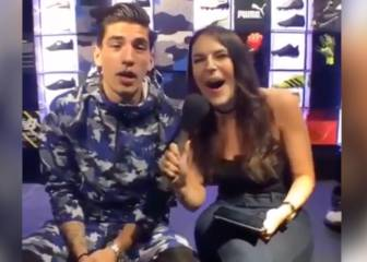 Bellerín trolls Van Persie during live fan chat