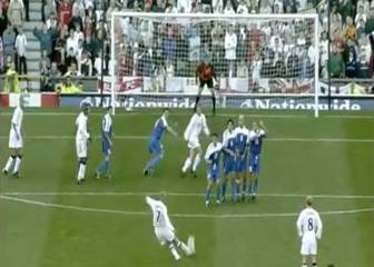 15 years since THAT Beckham freekick for England v Greece