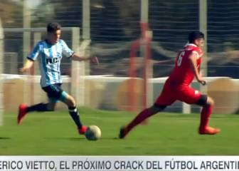 Argentina presume del hermano de Vietto: ¡Crack!