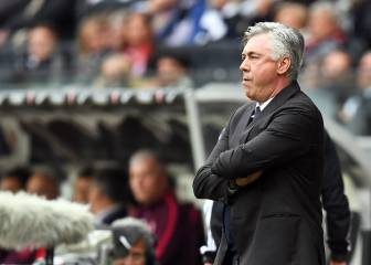 Ancelotti lays into players' attitude after Frankfurt draw