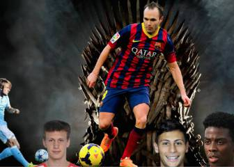 Eight future pretenders to Andrés Iniesta's throne