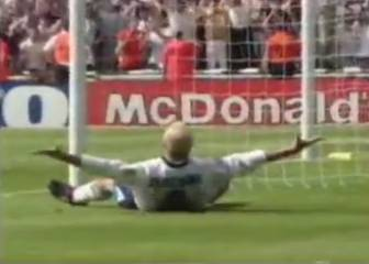 Gascoigne's wonder-goal against Scotland at Euro 96
