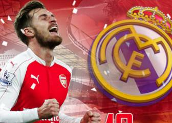 Aaron Ramsey linked with €25m move to Real Madrid