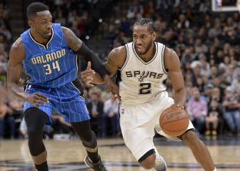 Resumen del San Antonio Spurs - Orlando Magic de la NBA
