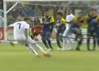 Cristiano's free-kick thunderbolt against Club America in 2010