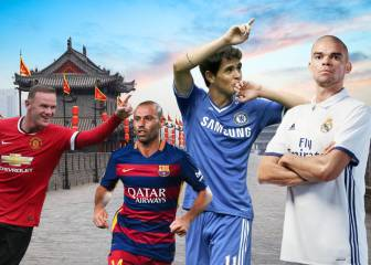 10 stars who could well be off to the Chinese Super League
