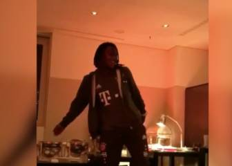 Renato Sanches throws sensational shapes to rhythm of Rihanna
