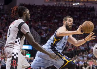 Resumen del Memphis Grizzlies - Houston Rockets