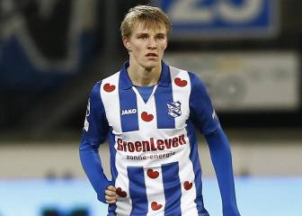 Ødegaard looking good on his first start for Heerenveen